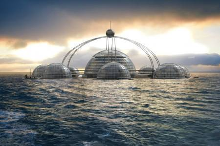 Ваш причал будет достоин Вашего берега | Плавающий купол