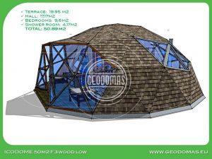 LOW купол 50m2