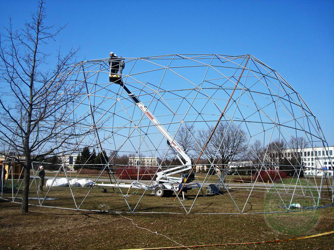 Portable Dome Ø20m for AgroBalt Expo Agriculture, Kaunas, Lithunia