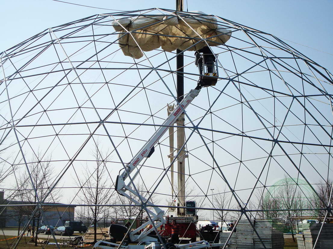 Ø20 м Переносной купол для AgroBalt Expo Agriculture, Каунас, Литва