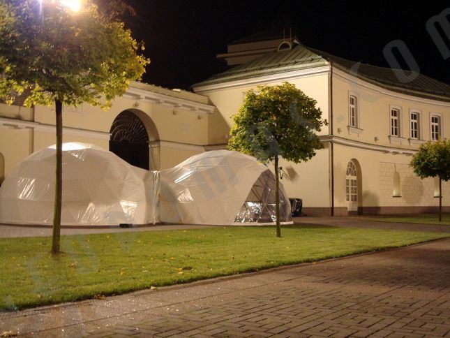 Конференция «Переносные купола Ø6 м для энергетической безопасности» 2007, Президентский суд, Вильнюс
