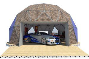 Купольные Авто гаражи и мастерские