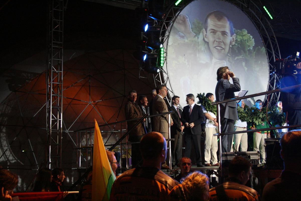 Встреча бронзовых призеров Евробаскета 2007 в Вильнюсе, Литва