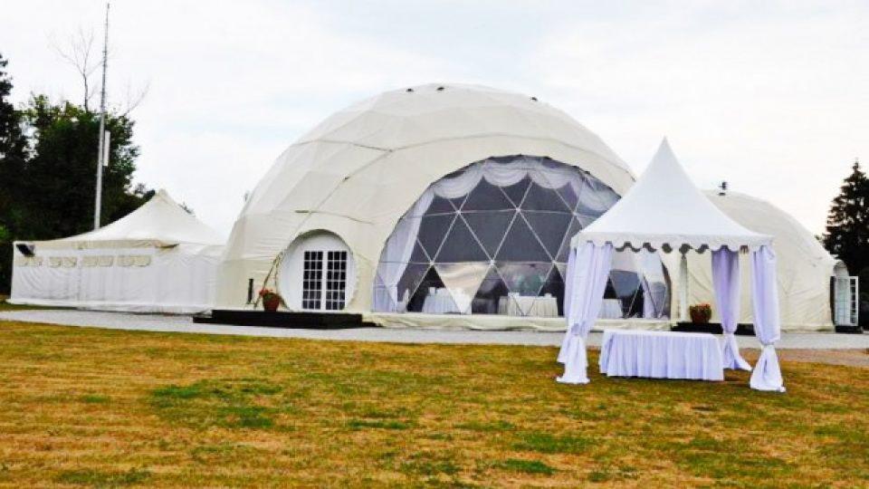 VIP центр для мероприятий 450m2 Ø20 & Ø13 | Купол