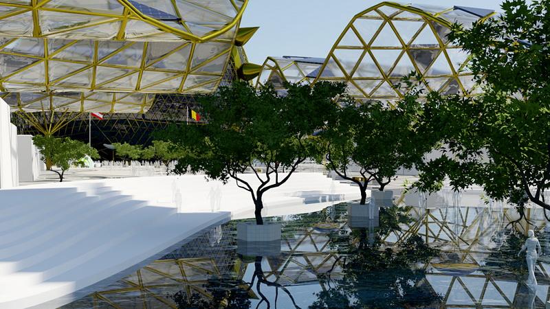 Наши идеи и легли в основу разработки проекта Экспо 2017