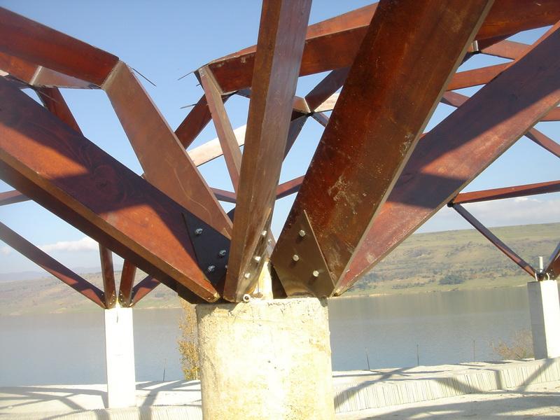 Quadrat Модели Купольные Беседки, Футуристического дизайна