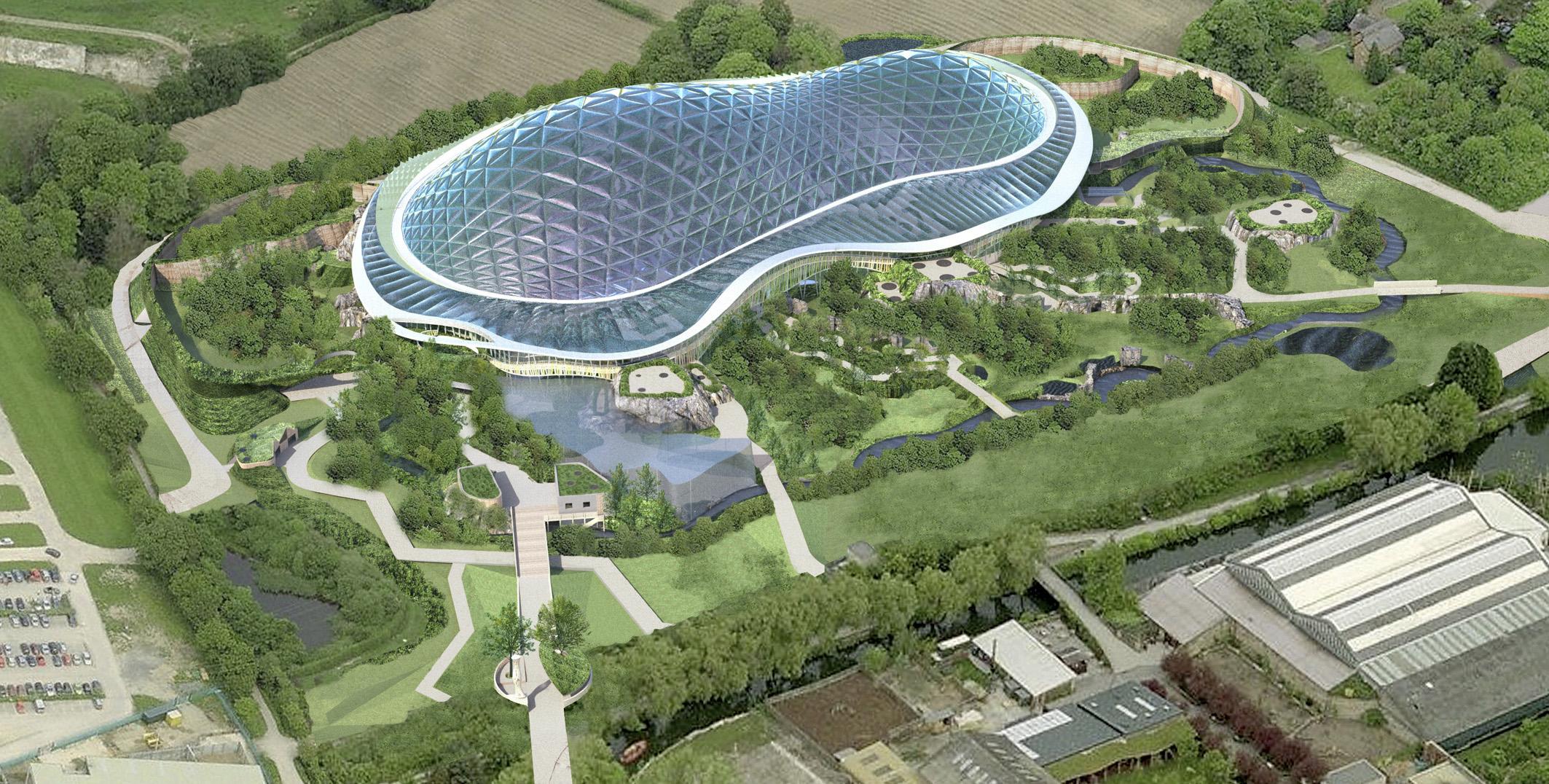 Прозрачные Купольные Здания для ботанических садов, Аквапарков