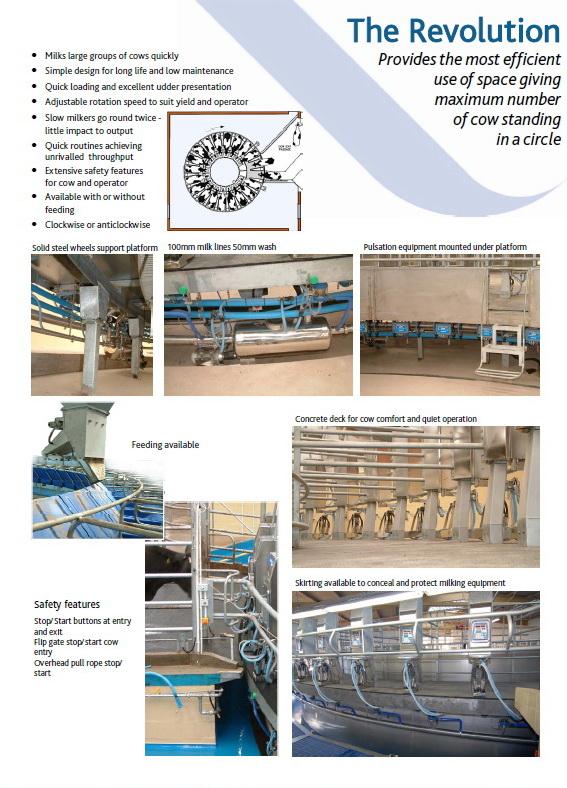 Купольная Крыша для ротационной доильной системы | Животноводческое хозяйство