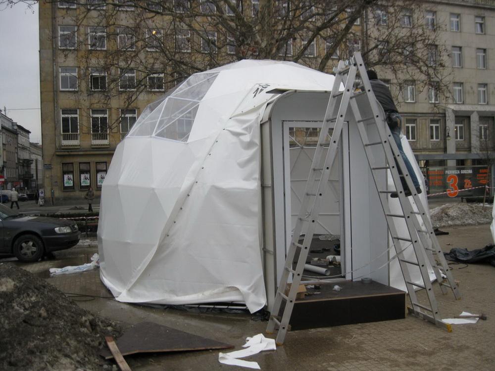 """Мультимедийная выставка """"Словянский Мит"""" Куполa 350m2, Польша"""