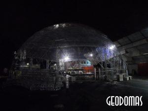 Презентация NISSAN JUKE в прозрачном Куполе 28м, Италия