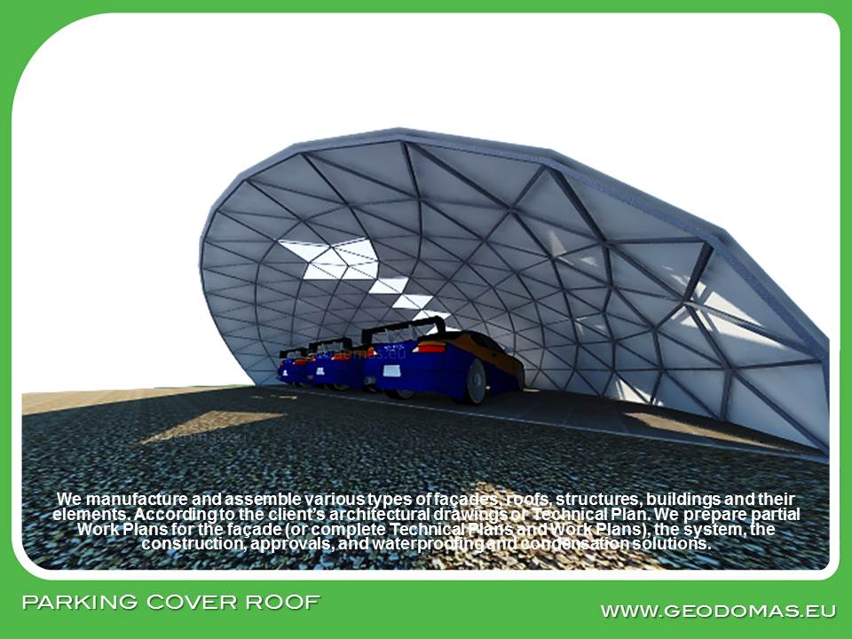 Geodesic Dome Roof for AutoParking