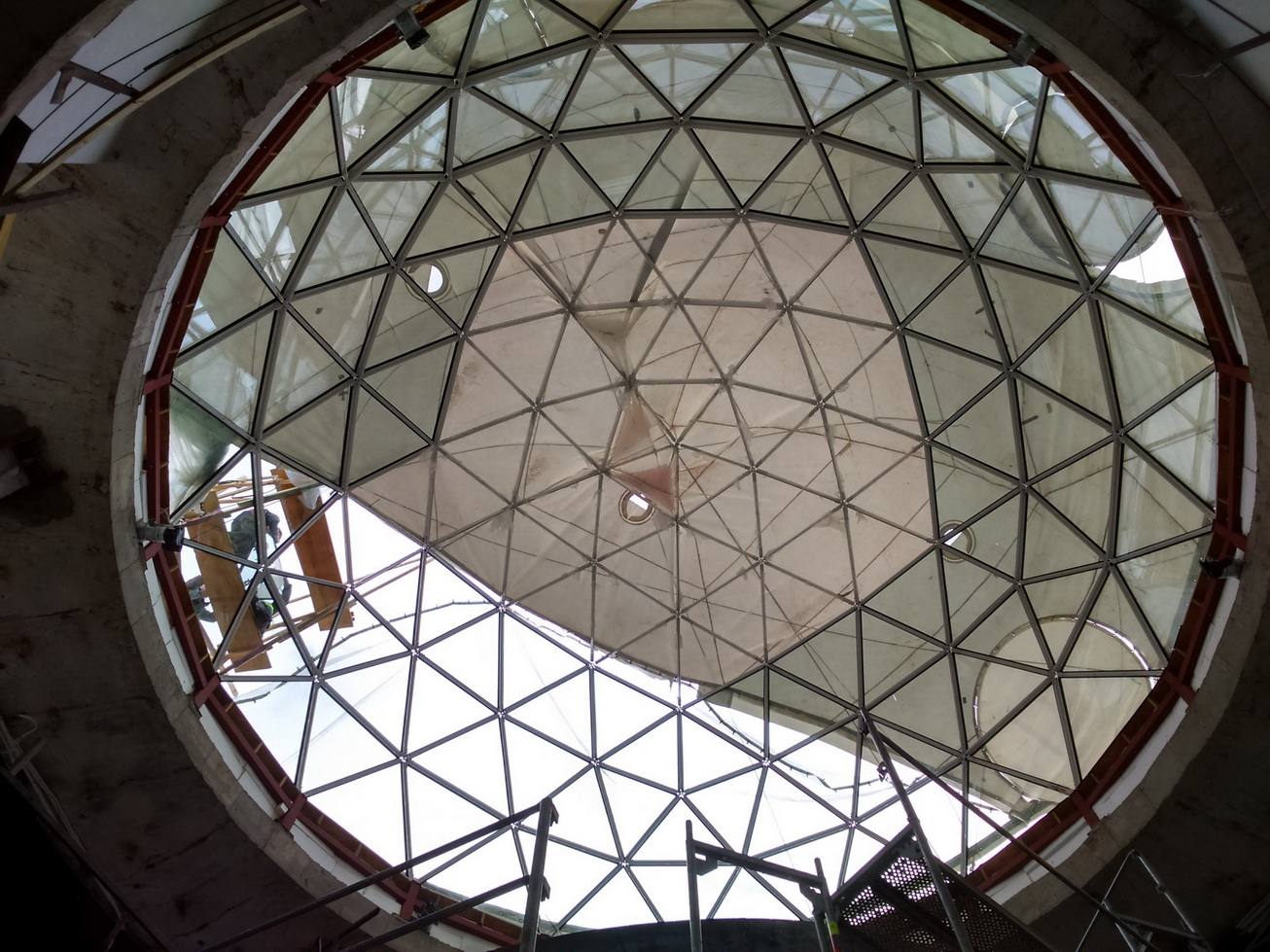 Санаторий Витаутас Минерал СПА   Геодезический купол крыши