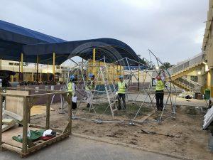 Филиппинская школа в Абу-Даби/ Биокупол/ Ø6м