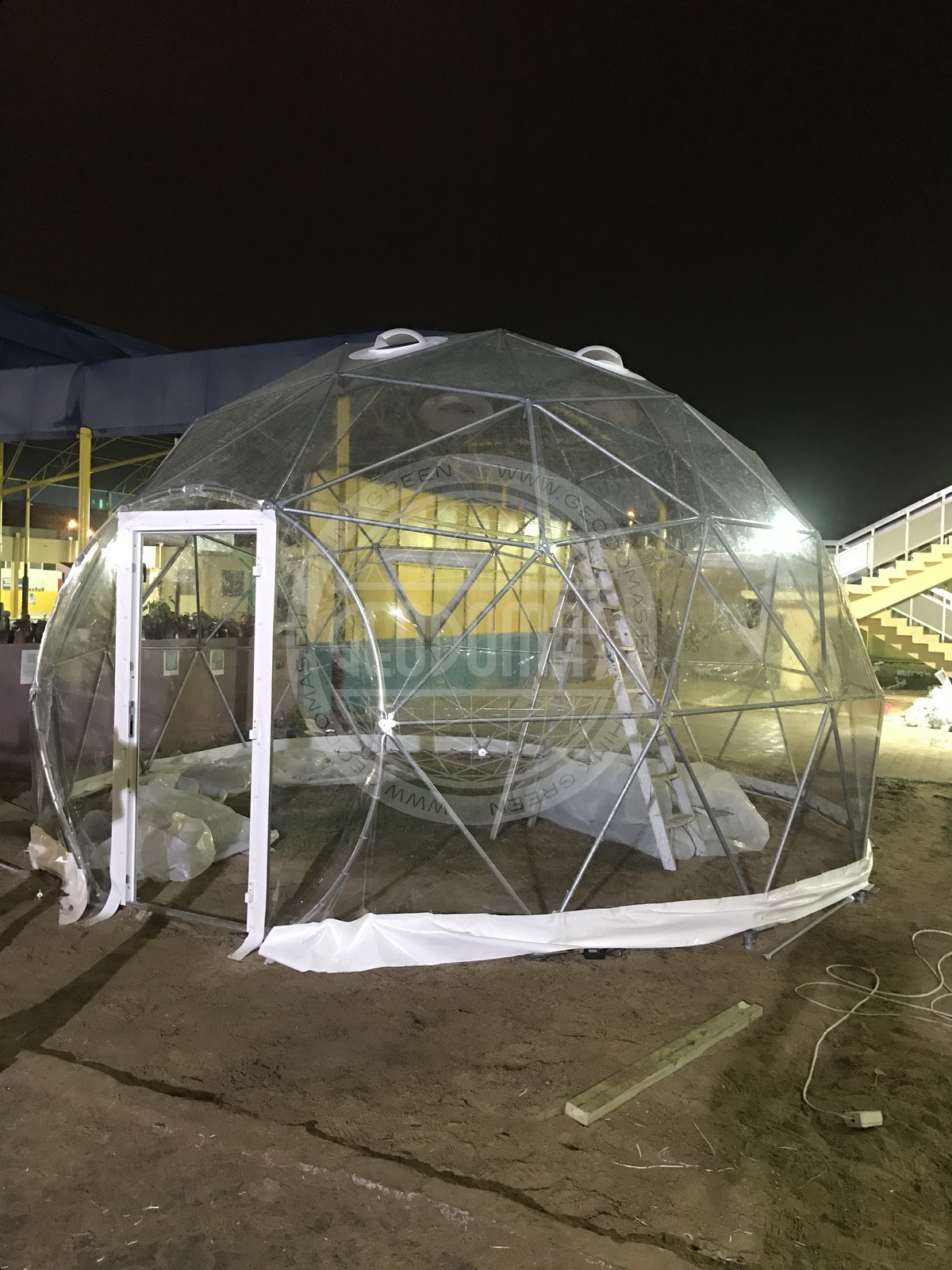Biodome Ø6m inside a The Philippine Global School | UAE,  Abu Dhabi