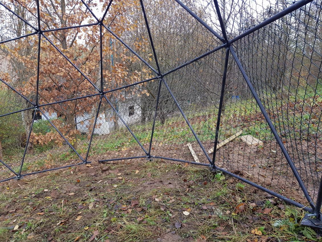 Ø8m Реабилитационный центр диких птиц в Буквалд, Польша
