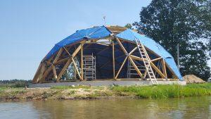 Щервинтай, загородный гостевой дом на берегу озера Купол