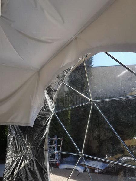 Dome for Business Meeting – Romans sur Isère | DOME Ø6m F3 30m2