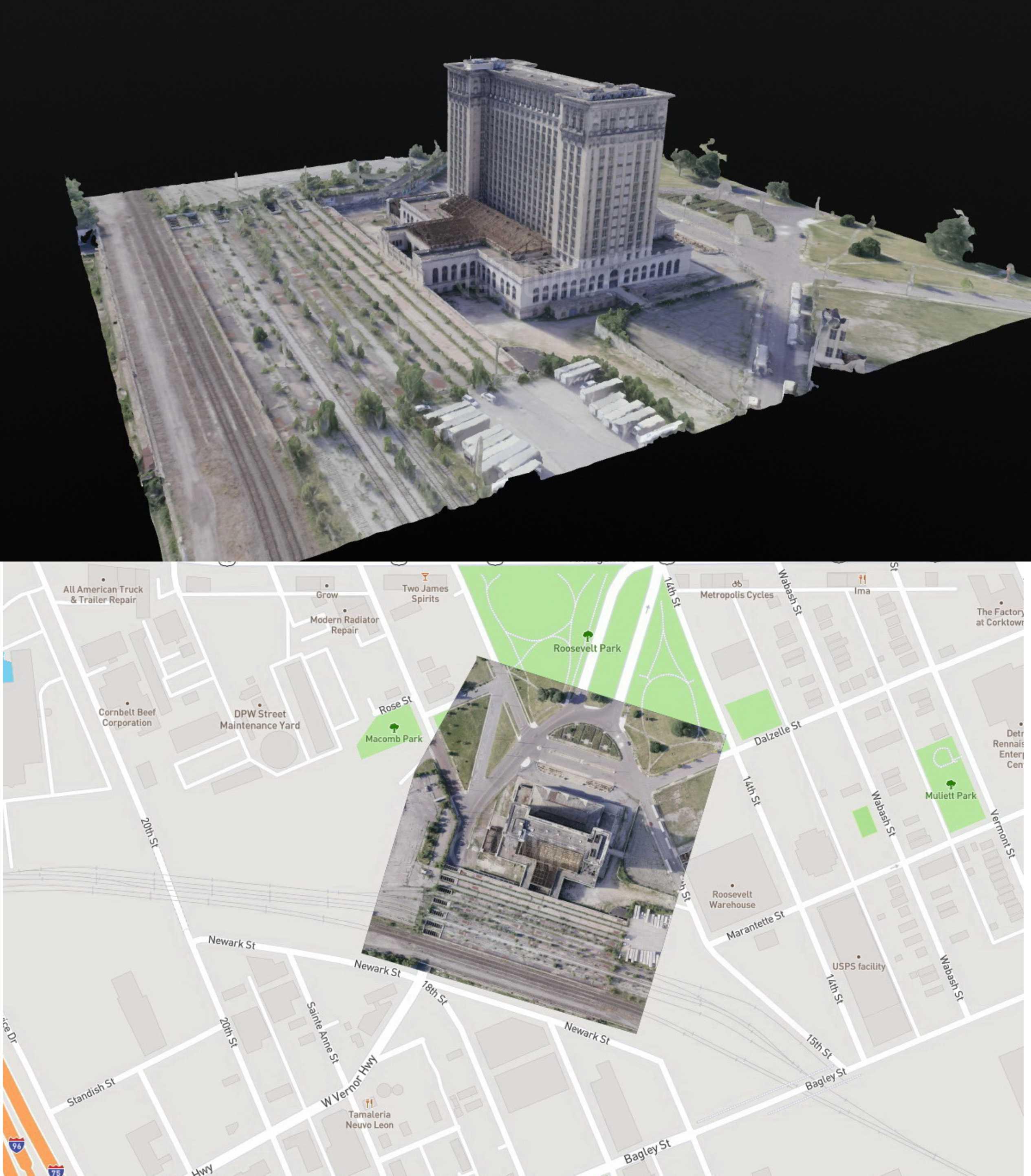 VR интерактивная платформа 360 ° x180 ° и 3D сканирование