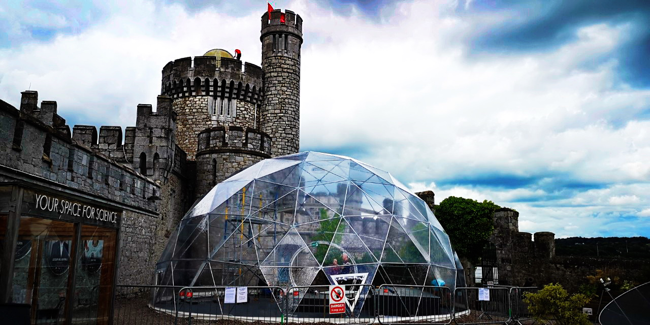 Ø11m 95m2 Dome @ Blackrock Castle and Observatory, Cork, Ireland