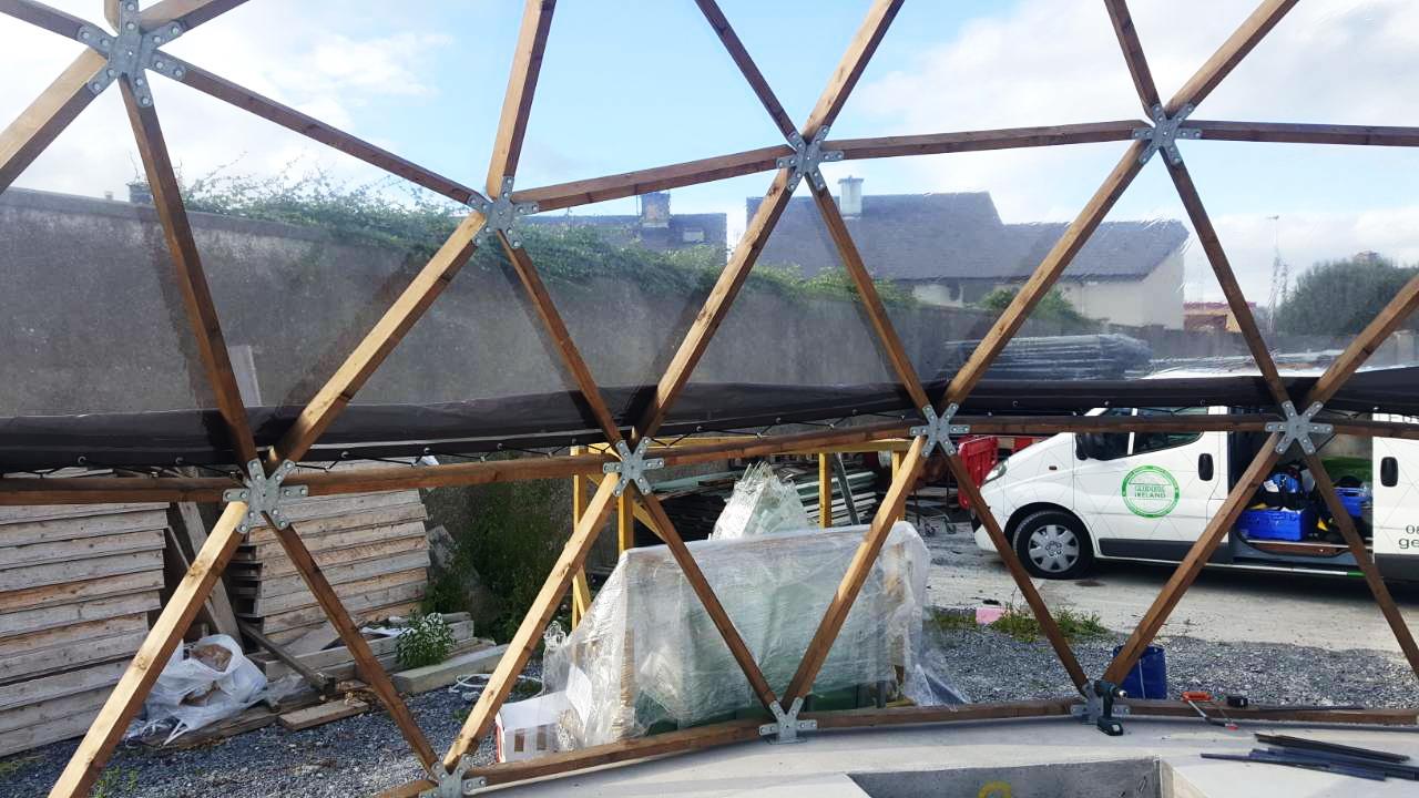 78m² Солнечный купол Ø10m F4 H5m | Трали, Ирландия