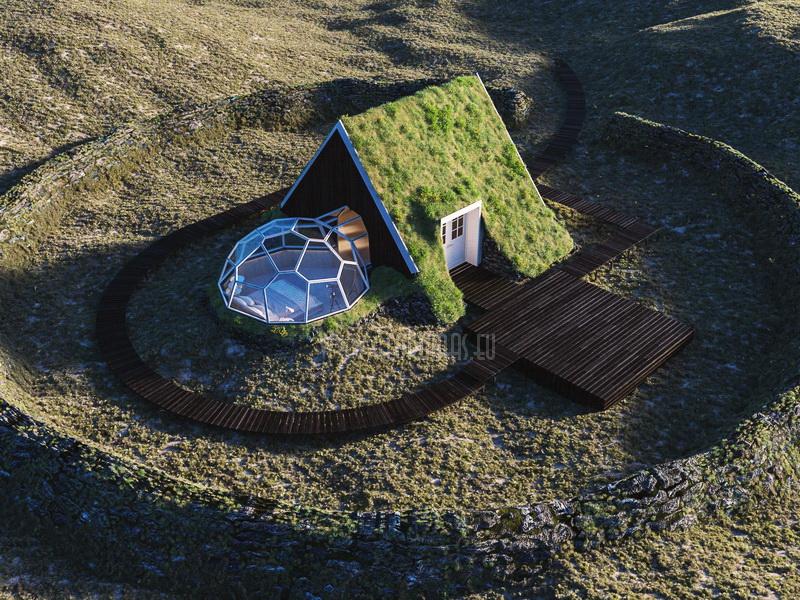 Arctic Aurora SPA Resort | 360° VR interactive Engineering