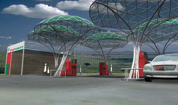 Geodesic Style Gas & Petrol Stations | Unique Designs