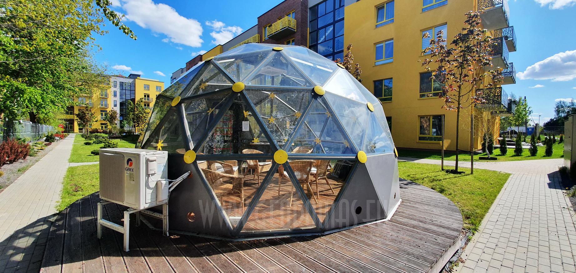 20m2 Public Lounge Dome   Fontanu Namai, Vilnius
