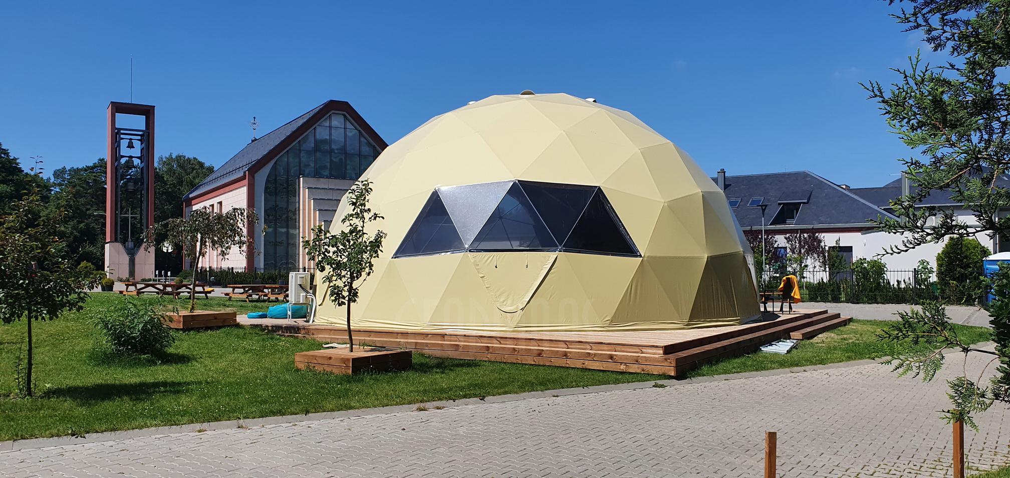 ⌀11m 95m2 Духовный купол @ Монастырь Святого Франциска Ассизского в Клайпеде