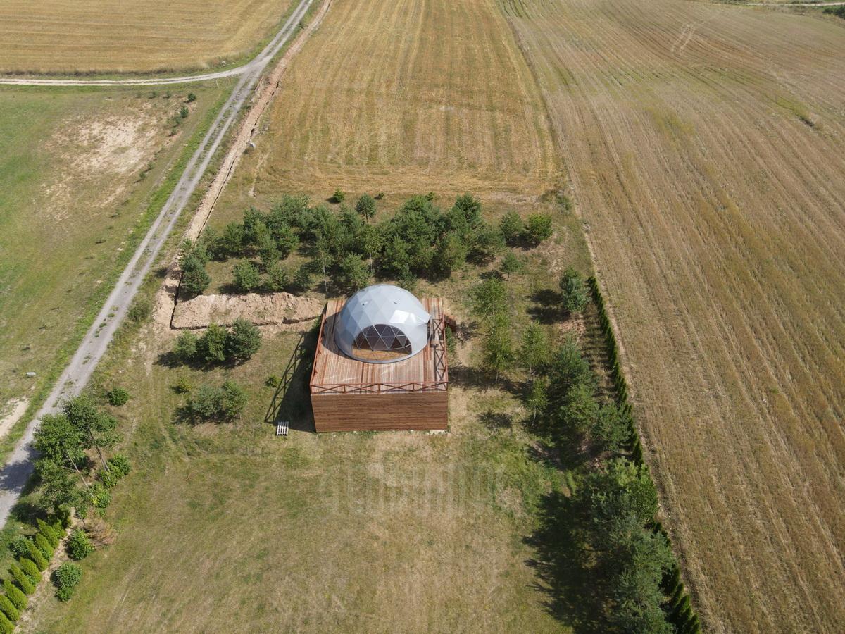 50m² Гостевой Глэмпинг Купол Ø8m | Сельский туризм
