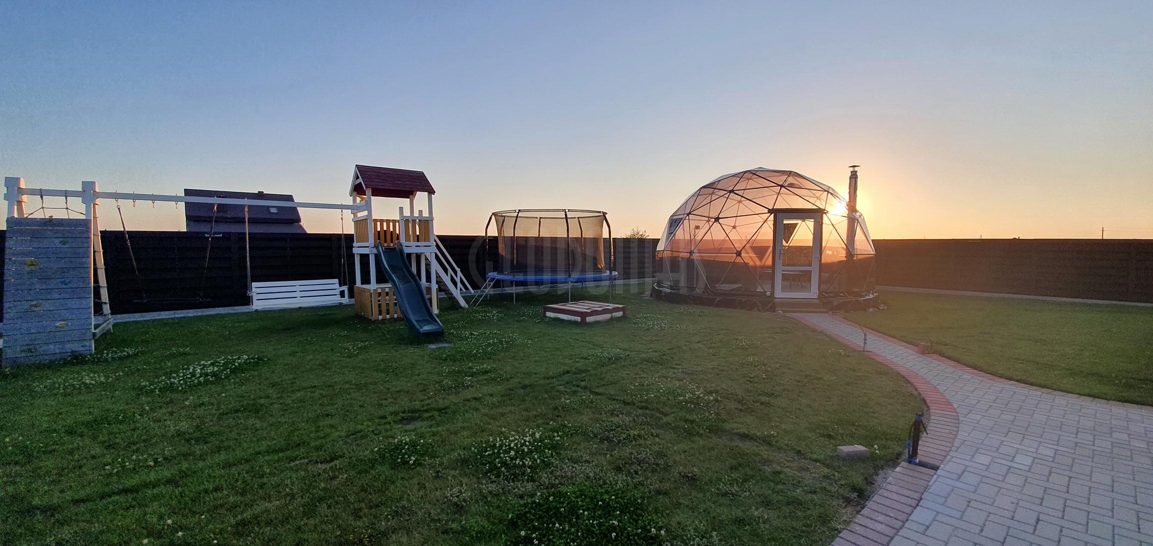 28m2 ⌀6m SPA Dome Jacuzzi – Full Transparent | Klaipeda