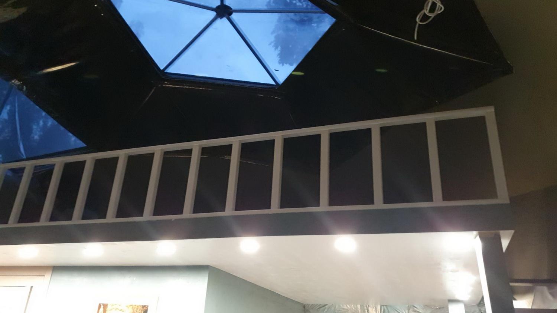 50m² Глэмпинг купол Ø8m & Дом у Дерева | Зона отдыха