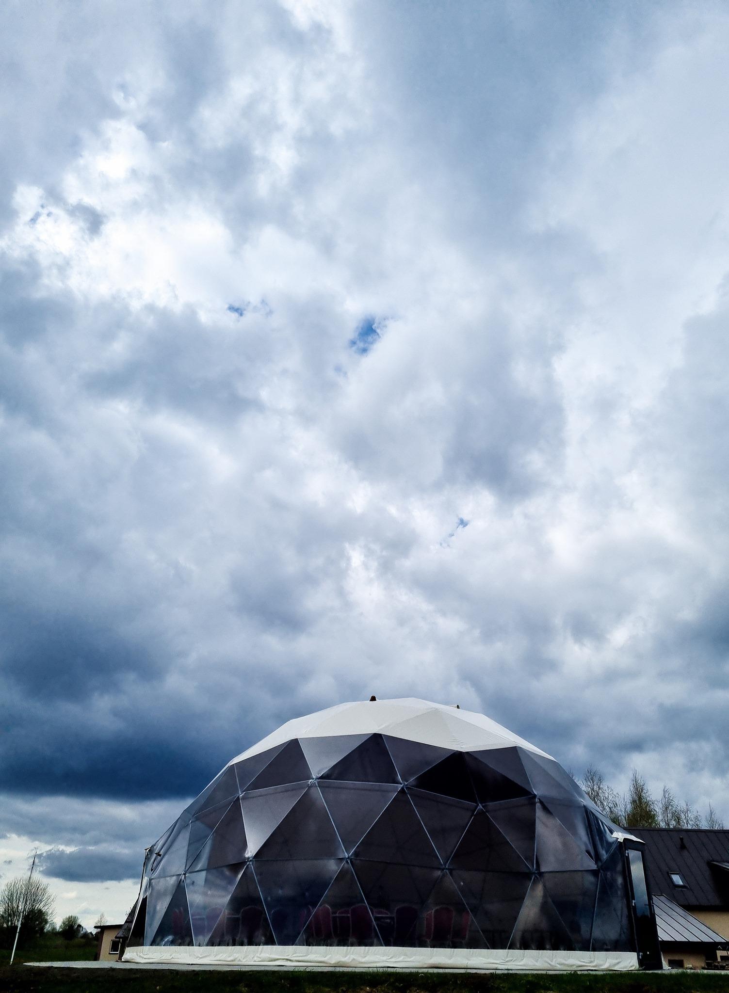 95м2 Ø11м Купол для свадебных мероприятий   MEDA HOUSE, LT