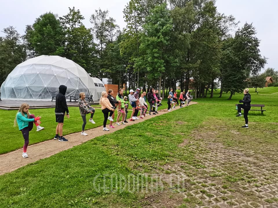⌀12m Dome for events 113m2 | Alausa Slenis, Lithuania